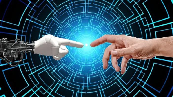 ロボットの指と人の指